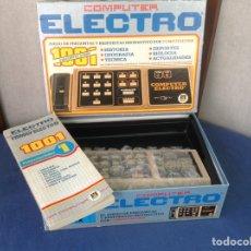 Juegos educativos: COMPUTER ELECTRO DE DISET MODELO 2. Lote 96432180
