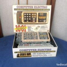 Juegos educativos: COMPUTER ELECTRO DE DISET MODELO 1. Lote 96432764
