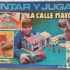 Juegos educativos: KIT PELIKAN. PINTAR Y JUGAR AÑOS 80.LA CALLE MAYOR. SIN USO. Lote 96701183