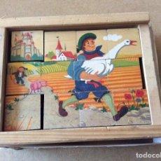 Juegos educativos: PUZZLE ANTIGUO DE MADERA. Lote 96924347