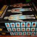 Juegos educativos: ANATOMIA HUMANA DESMONTABLE, 1-2-3. AÑO 1963-64.SIN USO.ESCALA 1:5 PLASTICOS SERIMA. Lote 96997779