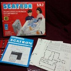 Juegos educativos: SCATRON S.N.2 REF 204 16CIRCUITOS 25COMPONENTES. Lote 98154216