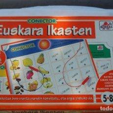 Juegos educativos: CONECTOR. EUSKARA IKASTEN. BORRAS.. Lote 98651395