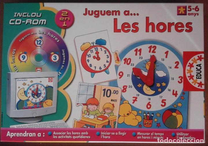 Educa Juguem A Les Hores De 5 A 6 Anos In Comprar Juegos