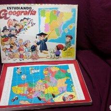 Juegos educativos: ESTUDIANDO GEOFRAFIA JUGUETE N°1001. Lote 99715932