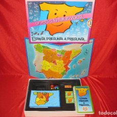 Juegos educativos: EDUCA - ESPAÑA PREGUNTA A PREGUNTA - UN RETO VIAJERO. Lote 100345811