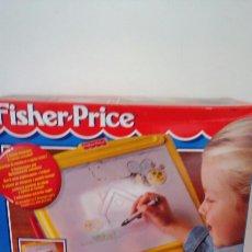 Juegos educativos: PIZARRA COPIADORA MÁGICA CON LUZ.FISHER PRICE 1995.NUEVA EN CAJA SIN ABRIR.. Lote 101653000