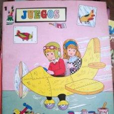 Juegos educativos: COLECCIÓN GIGANTE JUEGOS VALENCIANA 1983 DESCATALOGADO NUEVO. Lote 101963739