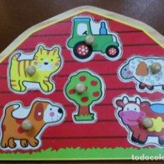 Juegos educativos: PUZZLER INFANTIL DE MADERA-. Lote 103691451