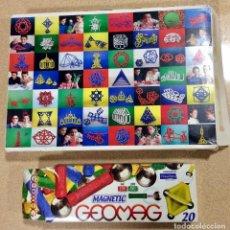 Juegos educativos: LOTE DOS MAGNETIC GEOMAG 20 Y 184 PIEZAS. Lote 103876003