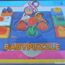 Juegos educativos: BABYPUZZLE DE MY BABY - EN CAJA- AÑOS 70 JUEGO INFANTIL - MARCA: MECANICA IBENSE -. Lote 103900703