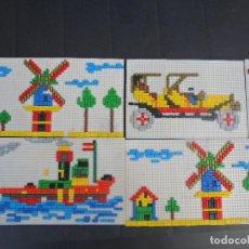 Juegos educativos: LOTE MOSAICOS MONTADOS - JUEGO EDUCATIVO DE LOS 80'S MOSAIK. Lote 103936663