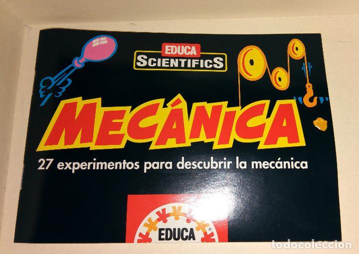 Juegos educativos: Educa Scientifics Mecánica 27 experimentos con caja y manual como nuevos parece completo - Foto 2 - 104563003