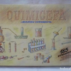 Juegos educativos: M69 JUEGO QUIMICEFA 185 EXPERIMENTOS. PRECINTADO. SIN USAR. AÑOS 80-90. CEFA.. Lote 105057451