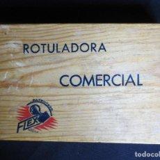 Juegos educativos: ROTULADORA COMERCIAL REGISTRADA CON LA MARCA FLEX. Lote 105330263