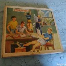 Juegos educativos: ANTIGUA IMPRENTILLA CADETE. EN SU CAJA ORIGINAL. BUEN ESTADO. Lote 105346536