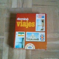 Juegos educativos: DOMINO VIAJES. MARCA EDUCA. Lote 105413615