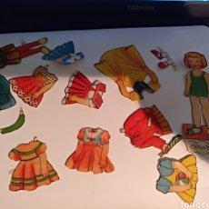 Juegos educativos: MUÑECA MARÍA RECORTABLES. Lote 105964372