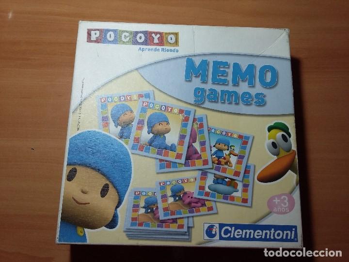 JUEGO MESA MEMO POCOYO, CLEMENTONI (Juguetes - Juegos - Educativos)