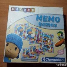 Juegos educativos: JUEGO MESA MEMO POCOYO, CLEMENTONI. Lote 106800031