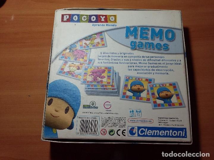 Juegos educativos: JUEGO MESA MEMO POCOYO, CLEMENTONI - Foto 3 - 106800031