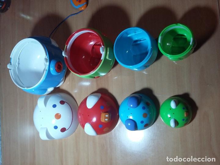 Juegos educativos: JUEGO INFANTIL TIPO MATROSKA - Foto 3 - 106803263
