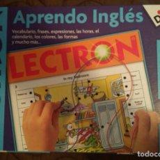 Juegos educativos: JUEGO LECTRON APRENDO INGLÉS DE DISET A ESTRENAR. Lote 107052687