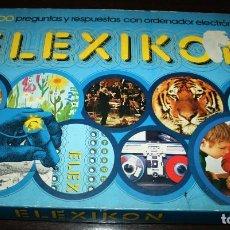 Juegos educativos: JUEGO ELEXICON - JUGUETES EDUCA, PREGUNTAS Y RESPUESTAS - AÑOS 70. Lote 107172639