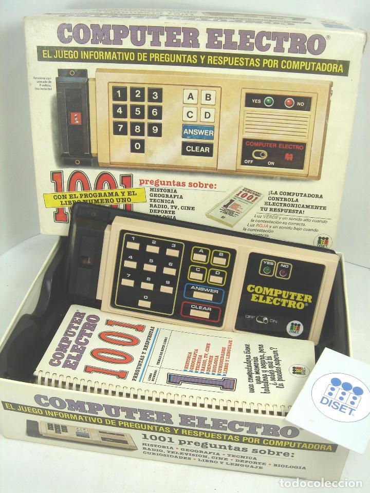 Juego Preguntas Computer Electro 1001 Diset J Comprar Juegos