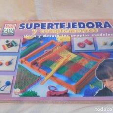 Juegos educativos: SUPER TEJEDORA Y COMPLEMENTOS. NOVO GAMA.. Lote 107324099