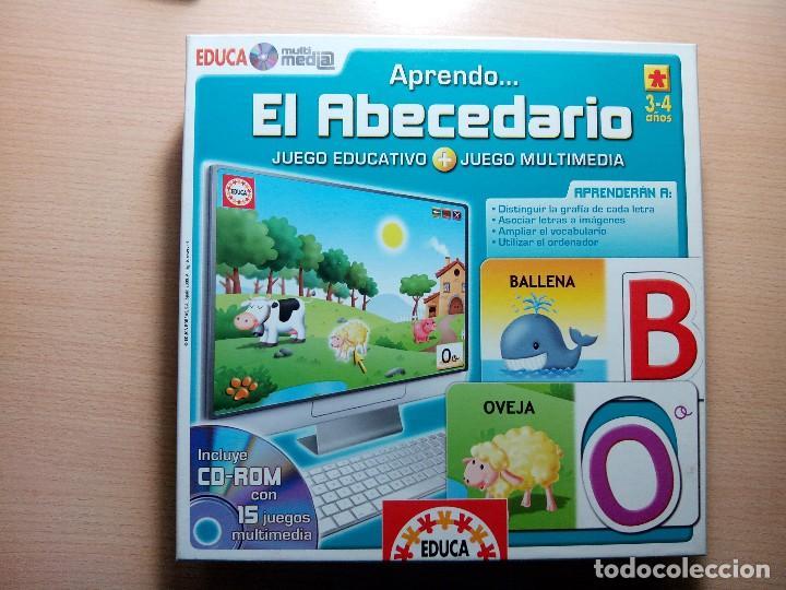 Aprendo El Abecedario Para 3 4 Anos Educa Comprar Juegos