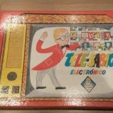 Juegos educativos: TELESABIO ELECTRÓNICO JUGUETES INSTRUCTIVOS J.M.. Lote 108124232