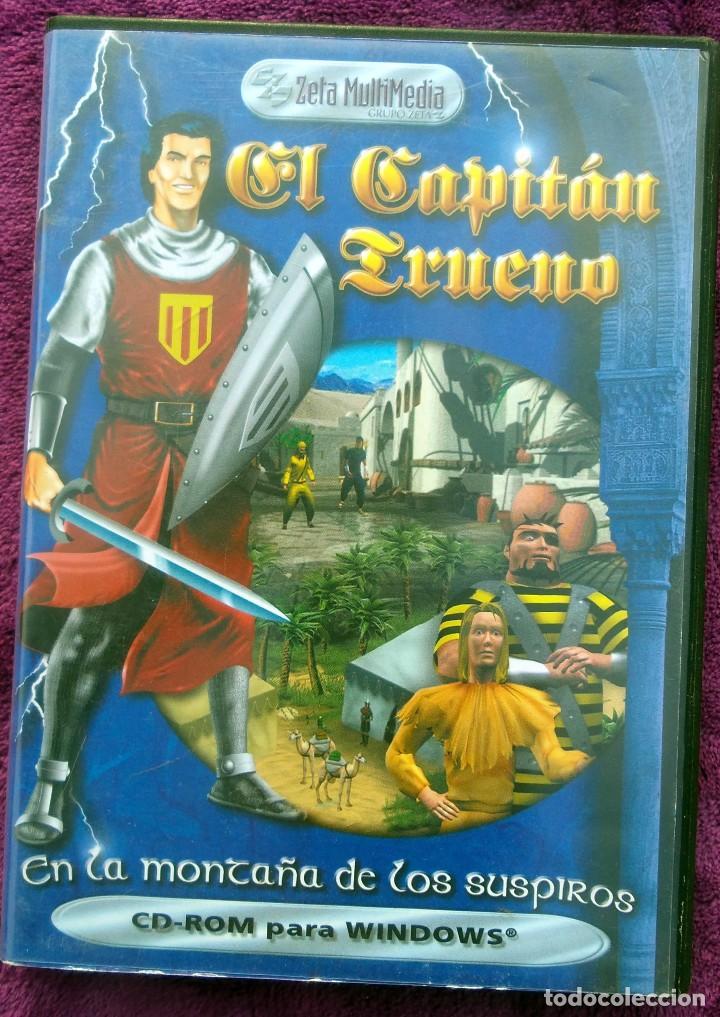 Juego Pc El Capitan Trueno En La Montana De L Comprar Juegos
