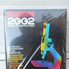 Juegos educativos: MICROSCOPIO. 2002 JUGUETES INSTRUCTIVOS. COMPLETO. SACADO DE JUGUETERÍA. PRECINTADO.. Lote 109375923