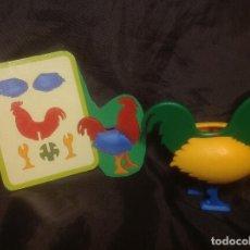 Juegos educativos: GALLO PUZZLE TOY COLOR AÑOS 90 9CM EN PLÁSTICO. Lote 109524739