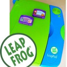 Juegos educativos: LEAP PAD (2001) DE LEAP FROG LIBRO INTERACTIVO PARA APRENDER A LEER 4-6 AÑOS ¡FUNCIONA!. Lote 172571552