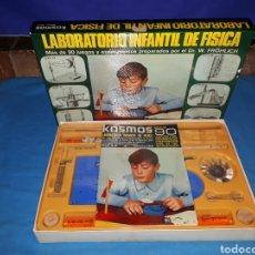 Juegos educativos: LABORATORIO FÍSICA POR EL DR W FRÖHLICH DE KOSMOS MOD 502. Lote 110093547