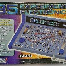 Juegos educativos: 35 EXPERIMENTOS ELECTRÓNICOS, ELECTROLAND MAXITRONIC. Lote 110700287