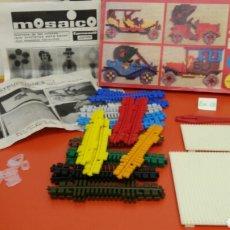 Juegos educativos: MOSAICO (SIMILAR A COLORINES).CARNEADO 70S.NUEVO EN CAJA.. Lote 110775650