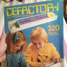 Juegos educativos: JUEGO CEFACTOR 1 MARCA CEFA. Lote 111395895