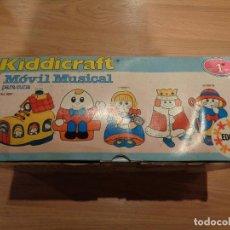 Juegos educativos: KIDDICRAFT MOVIL MUSICAL PARA CUNA EDUCA. Lote 111531299