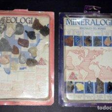 Juegos educativos: MATERIAL EDUCATIVO. COLECCIONES MINERALOGÍA Y GEOLOGÍA. ROCAS Y MINERALES. CRIP.. Lote 111767383