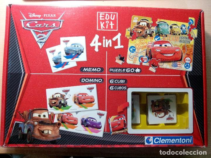 CARS 2. 4 EN 1. EDU KIT. CLEMENTONI. (Juguetes - Juegos - Educativos)