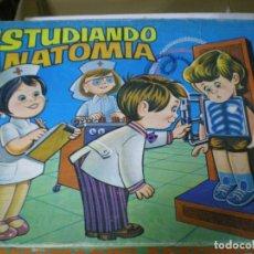 Juegos educativos: JUEGUETE ESTUDIANDO ANATOMIA. Lote 111924807