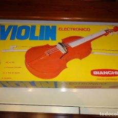 Juegos educativos: VIOLIN ELECTRONICO BIANCHI. Lote 112103039