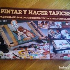 Juegos educativos: PINTAR Y HACER TAPICES SERIE NOVA MEDITERRÁNEO. Lote 112226119