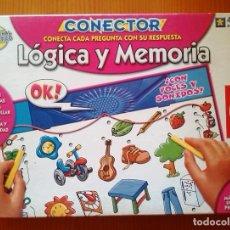 Juegos educativos: CONECTOR-LOGICA Y MEMORIA/EDUCA. Lote 112346895