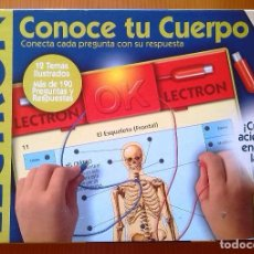 Juegos educativos: LECTRON-CONOCE TU CUERPO/DISET. Lote 112347275