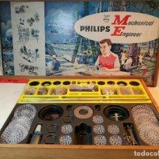 Juegos educativos: JUEGO CONSTRUCCION PHILIPS MECHANICAL ENGINEER ME1200 – AÑOS 60' . Lote 112368959