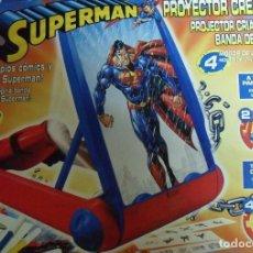 Juegos educativos: PROYECTOR SUPERMAN CREA TUS COMICS Y POSTERS PARA DIBUJAR Y PINTAR. Lote 112532315